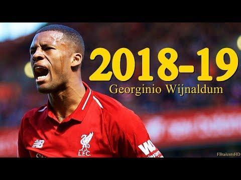 Georginio Wijnaldum 2018/2019 - Liverpool - Goals, Skills | HD