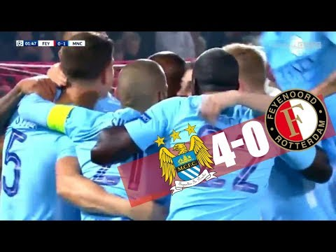 Feyenoord vs Manchester City 0-4 All Goals & Highlights --UCL- 13/09/17 HD