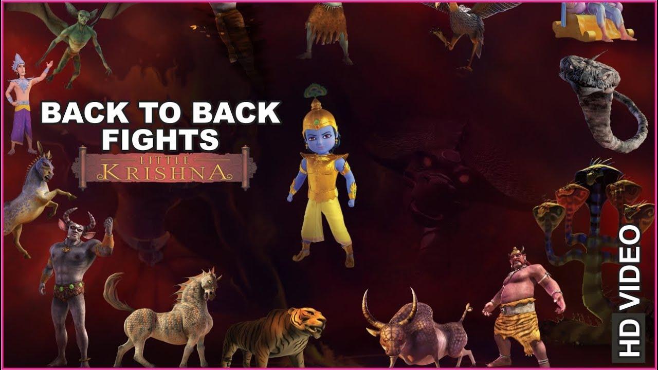 Download Little Krishna Back to Back Fights | HD | Hindi