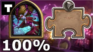 Hearthstone: The Puzzle Lab -  Board Clear | Dr. Morrigan 100%