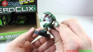 TMNT Heroclix Gravity Feed Unboxing