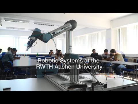 Robotic Systems at the RWTH Aachen University
