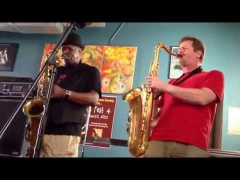 Joe McPhee and Ken Vandermark live at the Sugar Maple, Milw