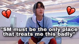 EXO Kai calling SM out in their own office
