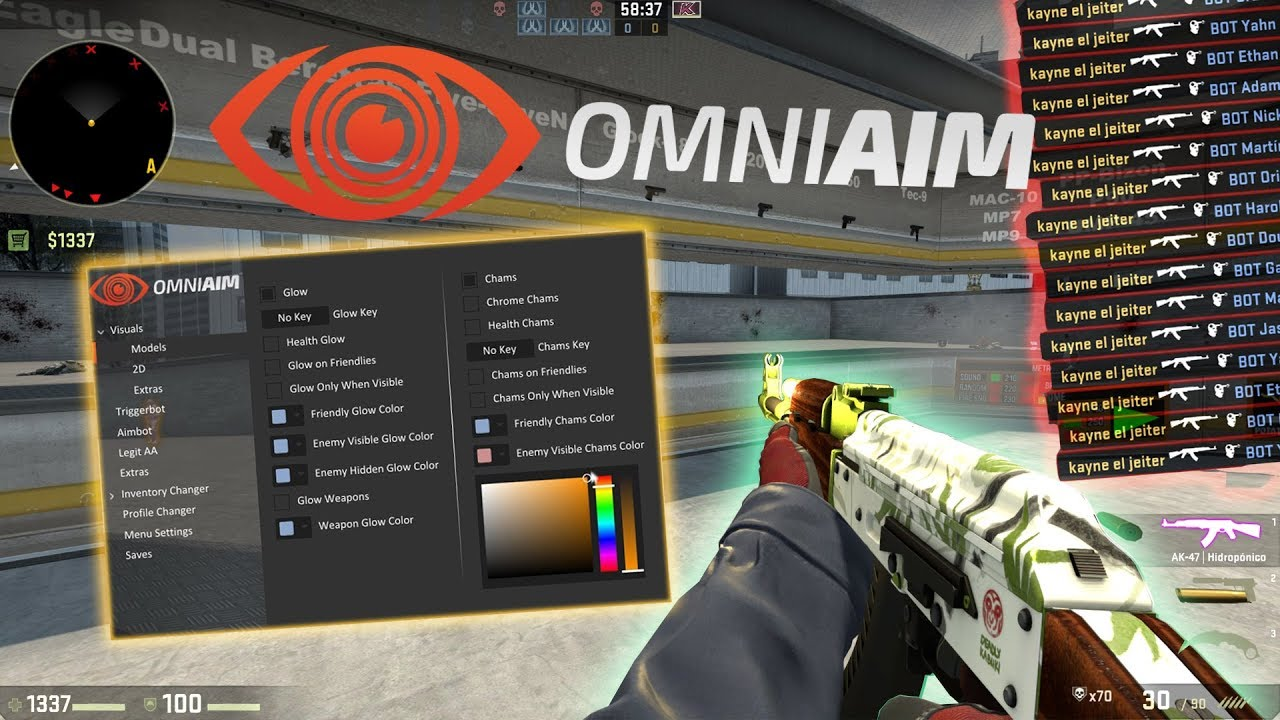 [SORTEO] OmniAim net LEGIT CS:GO CHEAT REVIEW by kayNe