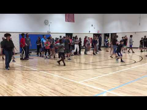 Power Middle School Dodgeball Fundraiser