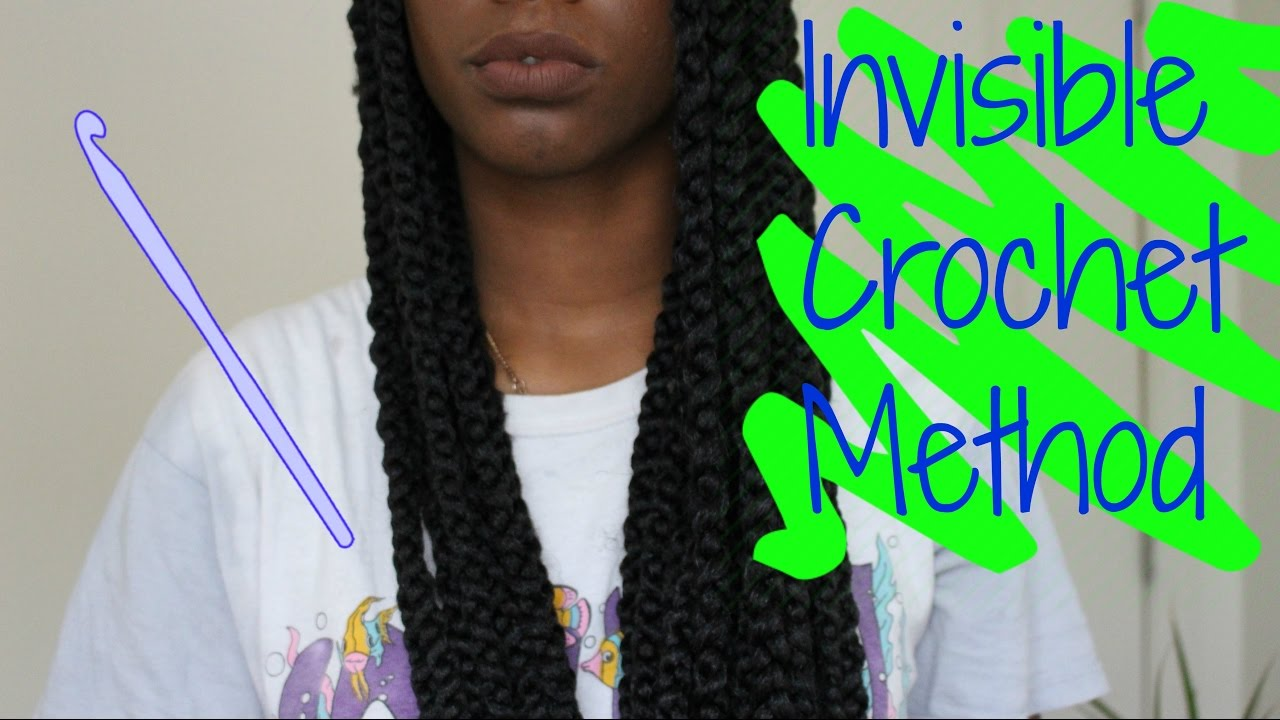 invisible crochet braids method tutorial senegal twisted