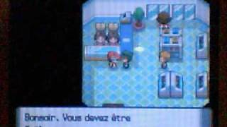 Avoir Jirachi dans la version perle sans Action replay