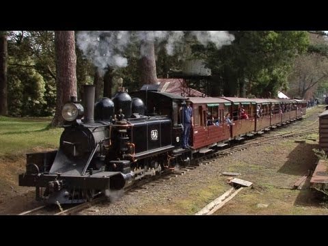 Narrow Gauge Steam Trains - Puffing Billy Railway: Australian Trains