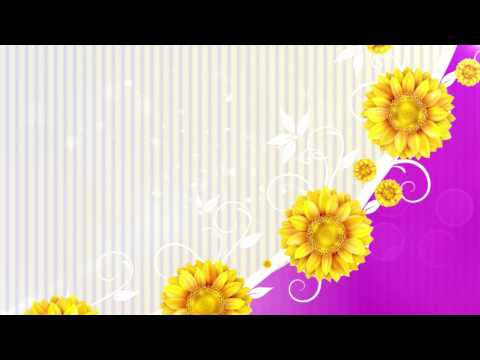flower Background,  Wedding Background Video, Video HD thumbnail