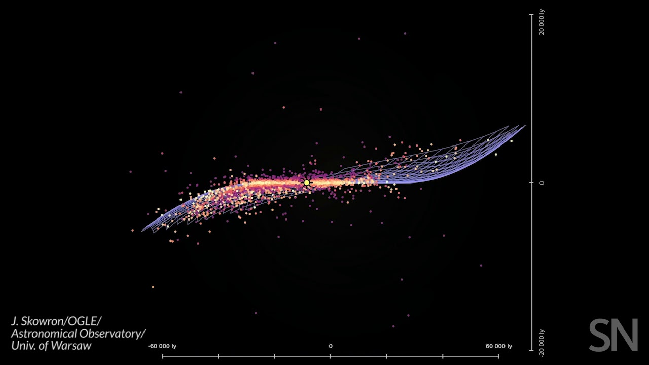 See the Milky Way's 3-D structure   Science News