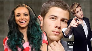 NEW COUPLE: Nick Jonas & Little Mix's Jade?! + Justin Bieber Wears Heels?!