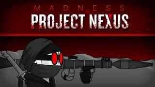 Let's Play Madness Project Nexus - CARNAGE INITIATED! - Free Indie Flash Game