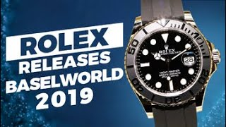 7d42bf26791e Baselworld 2019 New Releases - Rolex