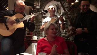 Azis and Gipsy Kings Dinner Together