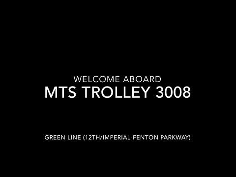 (ANNIVERSARY SPECIAL) MTS Trolley 2005 Siemens S70 #3008 | Coin Lloyd's Transit Hub