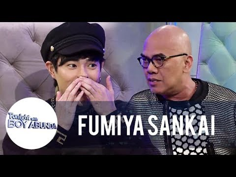 What does Fumiya call Boy Abunda? | TWBA