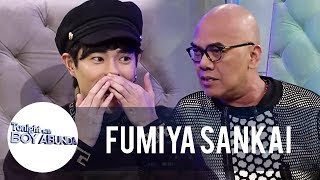 What does Fumiya call Boy Abunda? | TWBA
