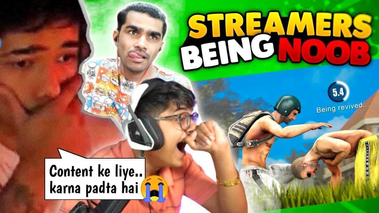"""Streamers Being Noob """"Part 2"""" 😂 / Streamers epic fail Moments"""