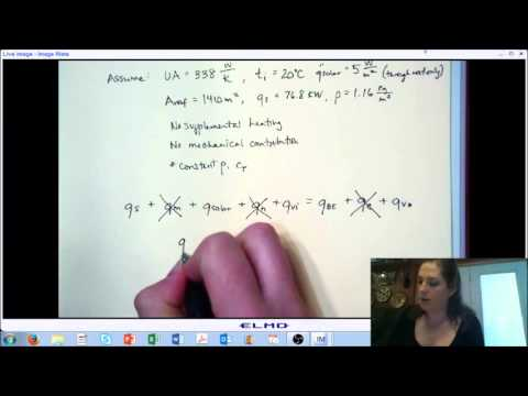 LECTURE 8 - Energy and Mass Balance