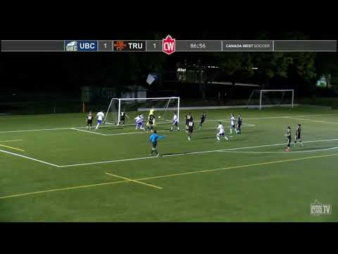 UBC scores 3 goals in 7 minutes