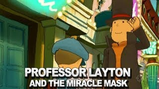 Professor Layton and the Miracle Mask - Opening
