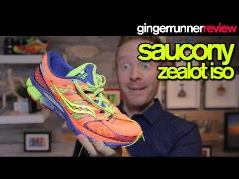 SAUCONY ZEALOT ISO REVIEW   The Ginger Runner