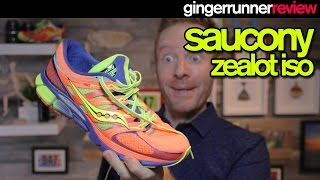 SAUCONY ZEALOT ISO REVIEW | The Ginger Runner