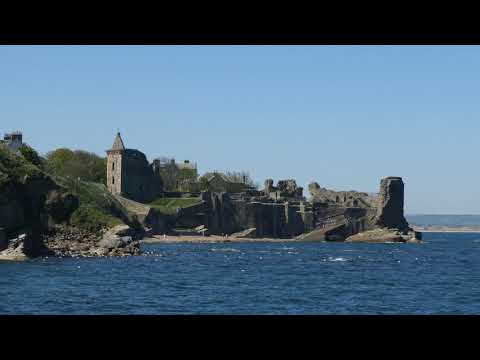 Spring Coast And Castle St Andrews Fife Scotland