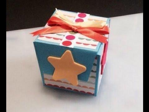 DIY: Tarjeta armable sorpresa cubo...