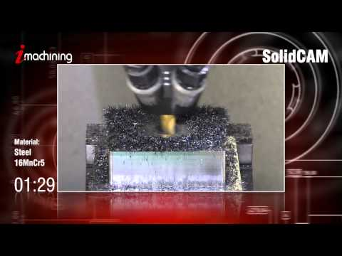 CNC Milling Software – iMachining CAMvolution – SolidCAM iMachining