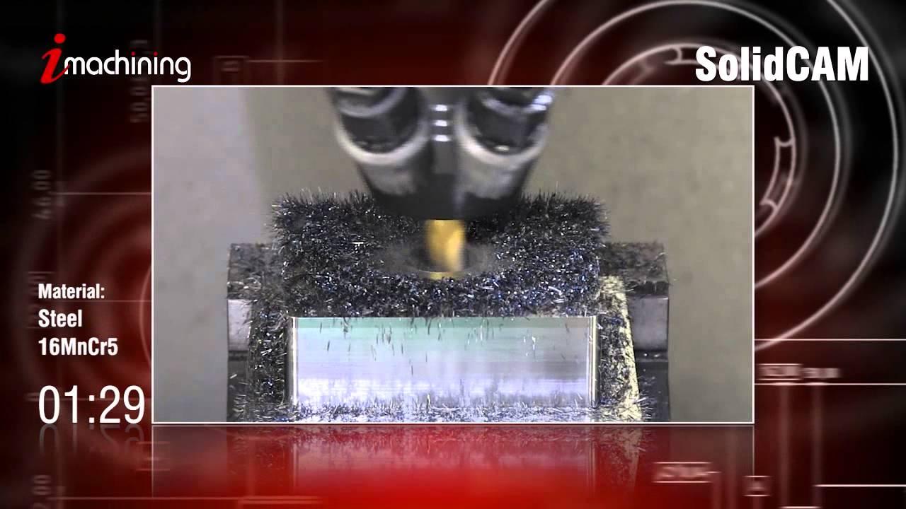 CNC Milling Software - iMachining CAMvolution - SolidCAM