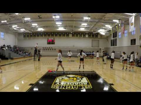 St. Agnes Academy vs. Monsignor Kelly Catholic High School - Set 3 of 3