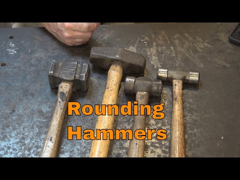 Rounding hammers - tool of the day