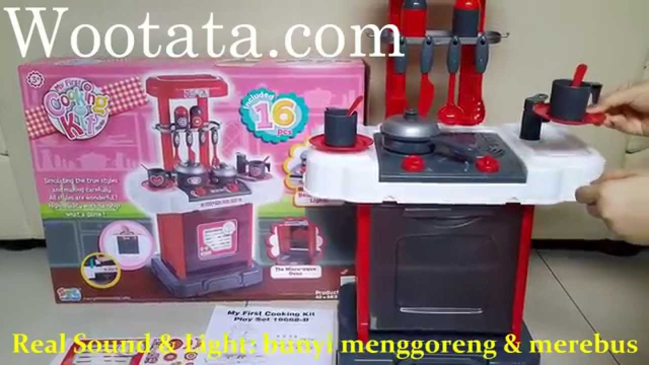 Jual Mainan Kitchen Set Anak Termurah Cooking Kit Playset Youtube