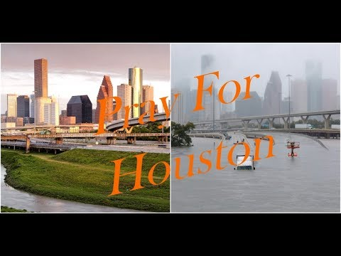 Houston Flooding Continues As Hurricane Harvey Lingers Over.
