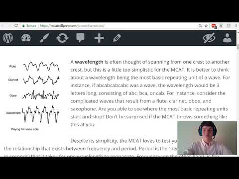 MCAT Question of the Day: Wavelength