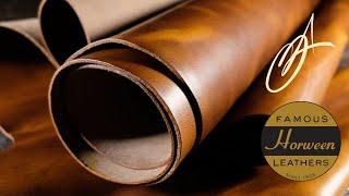 Horween Leather - Golden Caramel 5-6oz