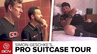 What's Inside A Pro Cyclist's Suitcase? With Simon Geschke Of Team Sunweb