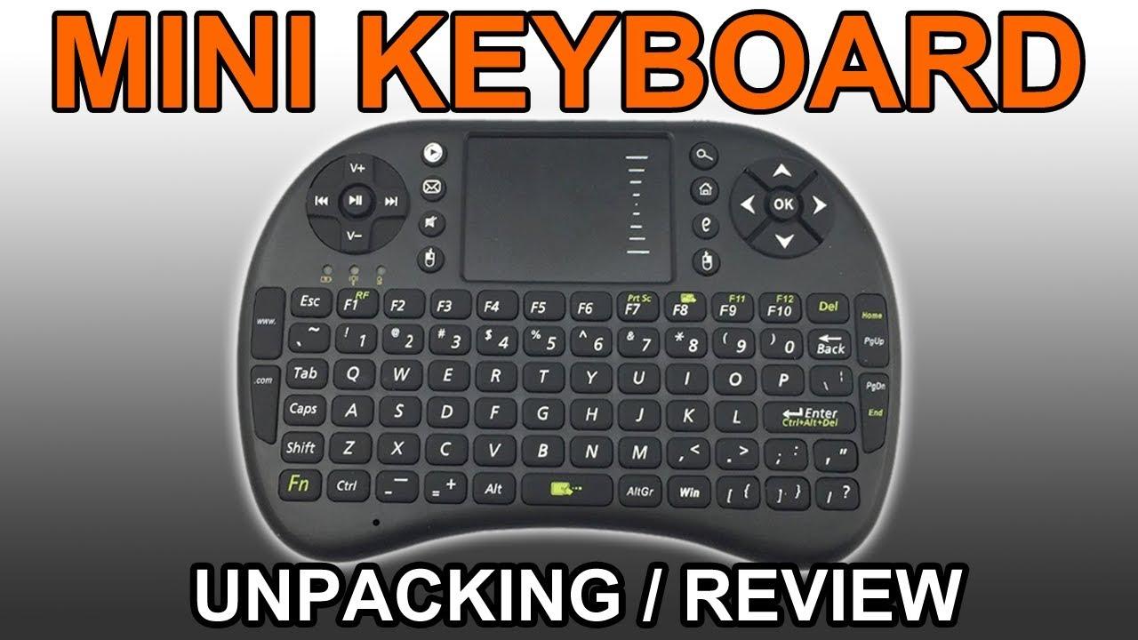 REVIEW Wireless USB Mini-Keyboard for Smart TV Box PC