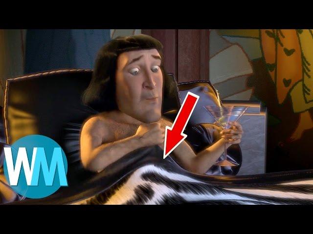 Top 10 des MESSAGES CACHÉS dans les films pour ENFANTS !