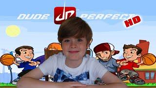 Ethan plays Dude Perfect HD (iPad / iOS) | KID GAMING