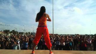 PRETTY WOMAN ZUMBA kal ho naa ho. choreography bollywood hits Ayelet Naor