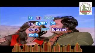 TUMNE KISI SE KABHII hindi karaoke for Male singers with lyrics
