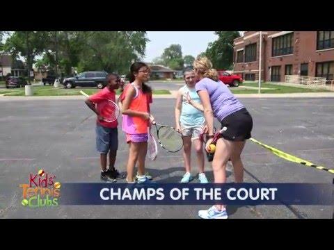 Kids Tennis Clubs: Tennis Games (5 Of 8)
