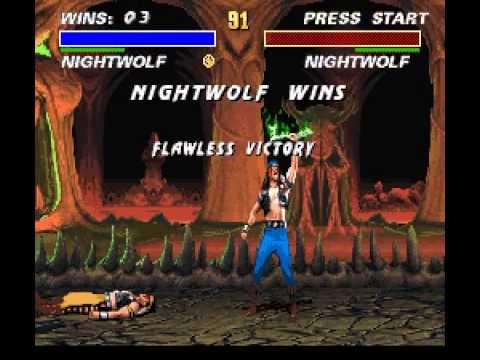 SNES Longplay [326] Mortal Kombat III