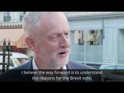 Jeremy Corbyn – Meeting with the Party of European Socialists