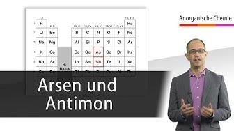 Arsen und Antimon - Anorganische Chemie