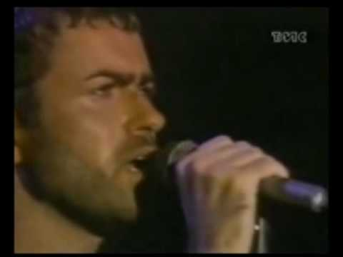 George Michael~ Careless Whisper -LIVE  rock in Rio 1991 (whith lyrics)