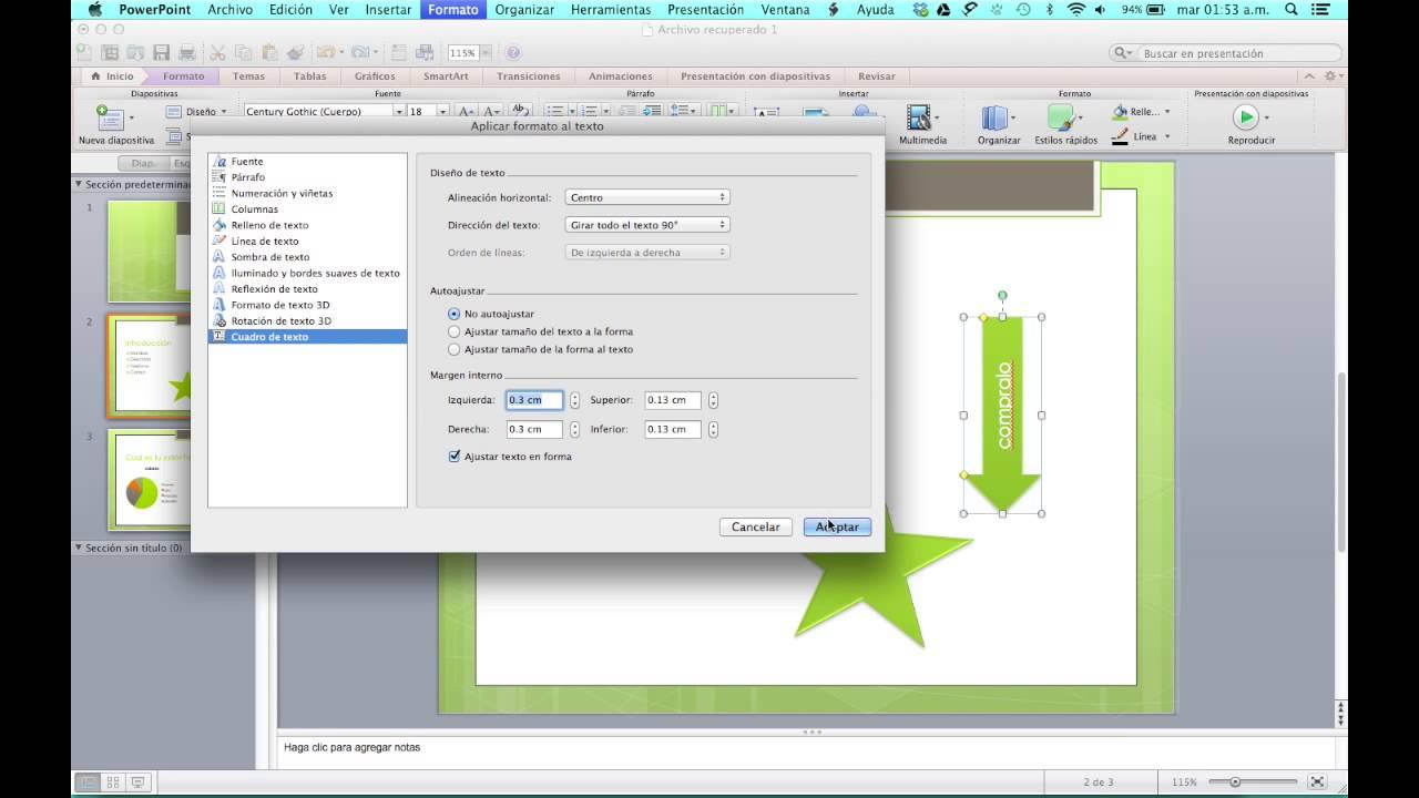 C mo agregar texto a las formas en powerpoint youtube - Como poner una mosquitera ...